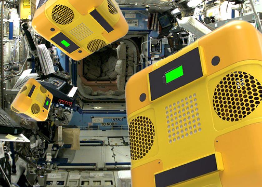 Роботы NASA будут шпионить за космонавтами