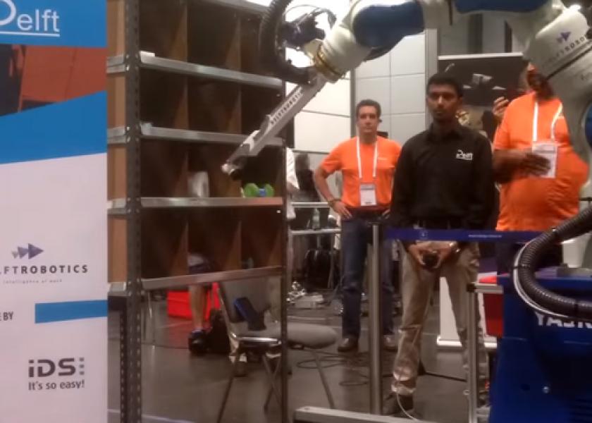 Робот из Нидерландов выиграл соревнования Amazon Picking