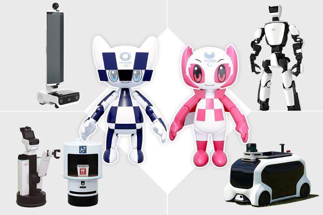 Роботы Toyota помогут в организации Олимпийских и Паралимпийских игр в Токио (+видео)