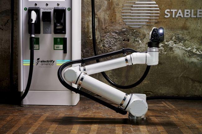 Electrify America и Stable испытают роботизированную зарядную станцию для автономных электромобилей
