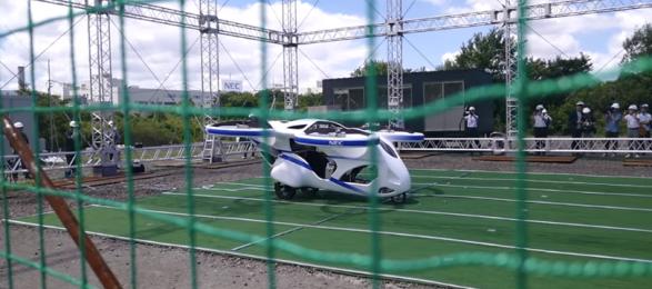 Беспилотники: NEC испытал прототип пассажирского дрона