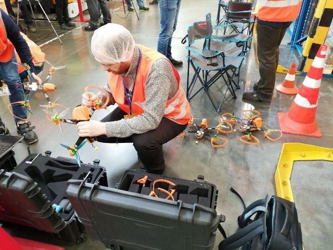 UVL Robotics создала сервис по беспилотной инвентаризации и провела успешные работы на заводе PepsiСo