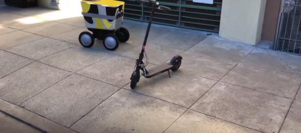 Роботизация: Postmates испытает наземных робокурьеров в Сан-Франциско