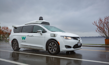Waymo испытает автономные автомобили в дождливую погоду