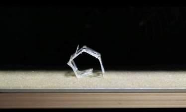 Складной мягкий робот Rollbot самостоятельно меняет форму при нагревании
