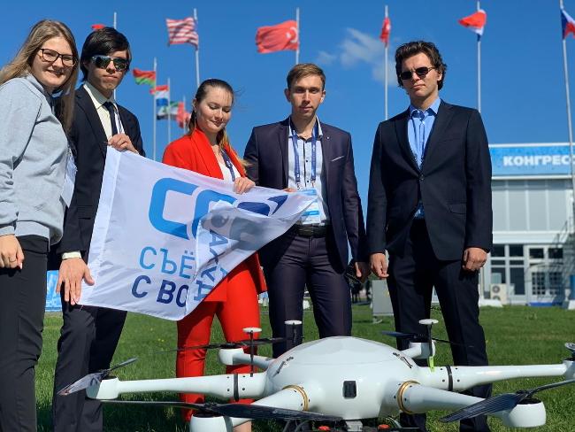 Рекорд России по максимально долгому полету гибридного дрона