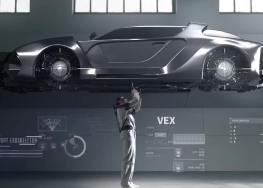 Роботизация: Hyundai - пассивные поддерживающие экзоскелеты