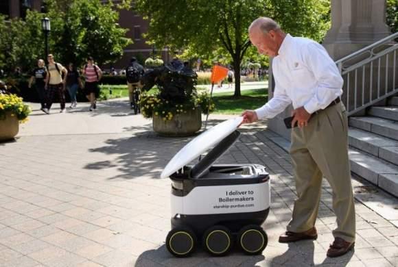 Starship продолжает расширять сервис доставки еды роботами в студенческих кампусах
