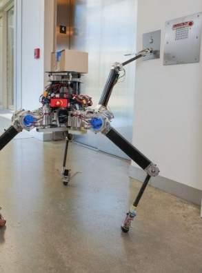 Новый робот ALPHRED 2 – симметричная модель с четырьмя конечностями