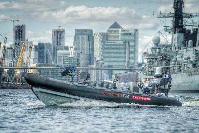 Безэкипажный аппарат BAE работает совместно с боевыми кораблями