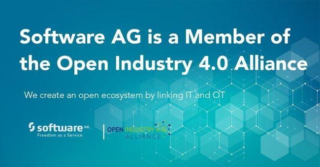 Software AG станет членом альянса Open Industry 4.0, чтобы способствовать объединению промышленных и информационных технологий