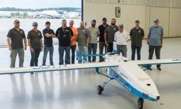 Первые испытания дрона с турбинным двигателем завершились успешно