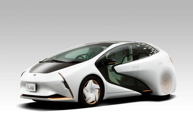 Концептуальный автомобиль Toyota LQ готов подружится со своим водителем