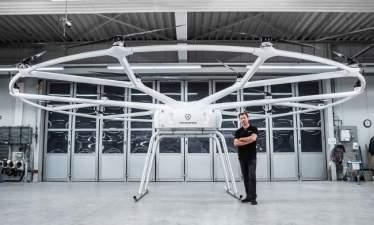 Грузовой дрон от Volocopter сможет поднимать до 200 килограммов