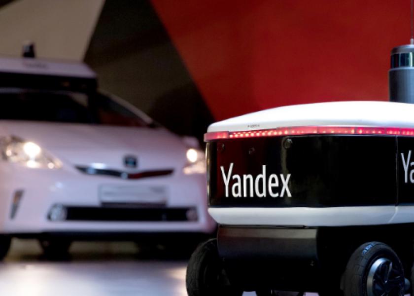 Роботизация: Яндекс.Ровер добавится в армию уличных роботов-курьеров?