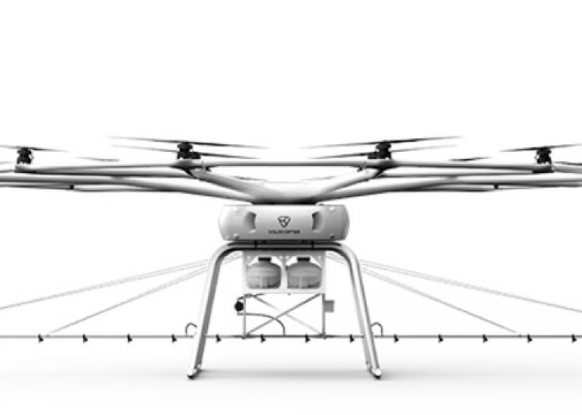 Беспилотники: Volocopter и John Deere займутся сельскохозяйственными дронами