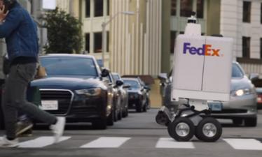 Робототехника: Робокурьеры FedEx пришли в Нью-Йорк