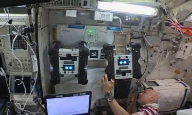 NASA активировало второго летающего автономного робота на МКС