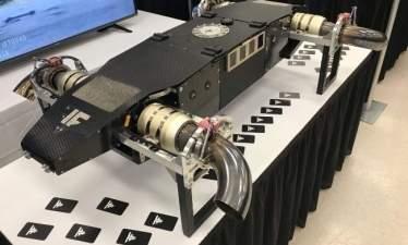 AB5 от FusionFlight – мощный дрон на реактивном двигателе