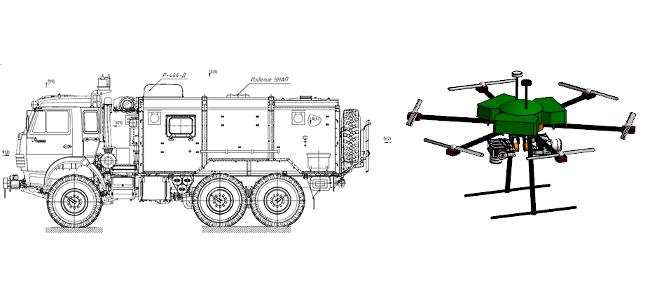 «Росэлектроника» разрабатывает мобильный комплекс с беспилотником для поиска и спасения людей