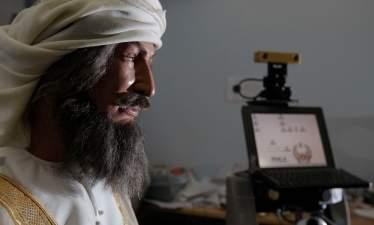 Первый арабский-говорящий робот