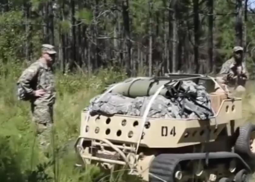 """Роботизация: MUTT - роботизированный """"мул"""" для американских военных"""