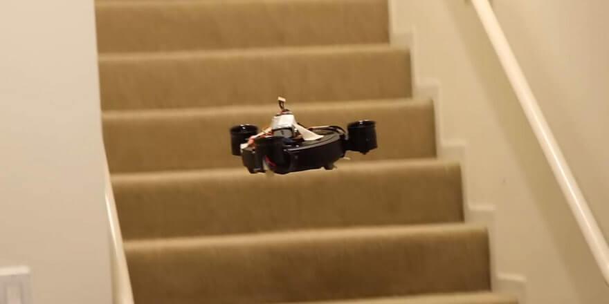 Летающие роботы-пылесосы могут стать реальностью — начало положено!