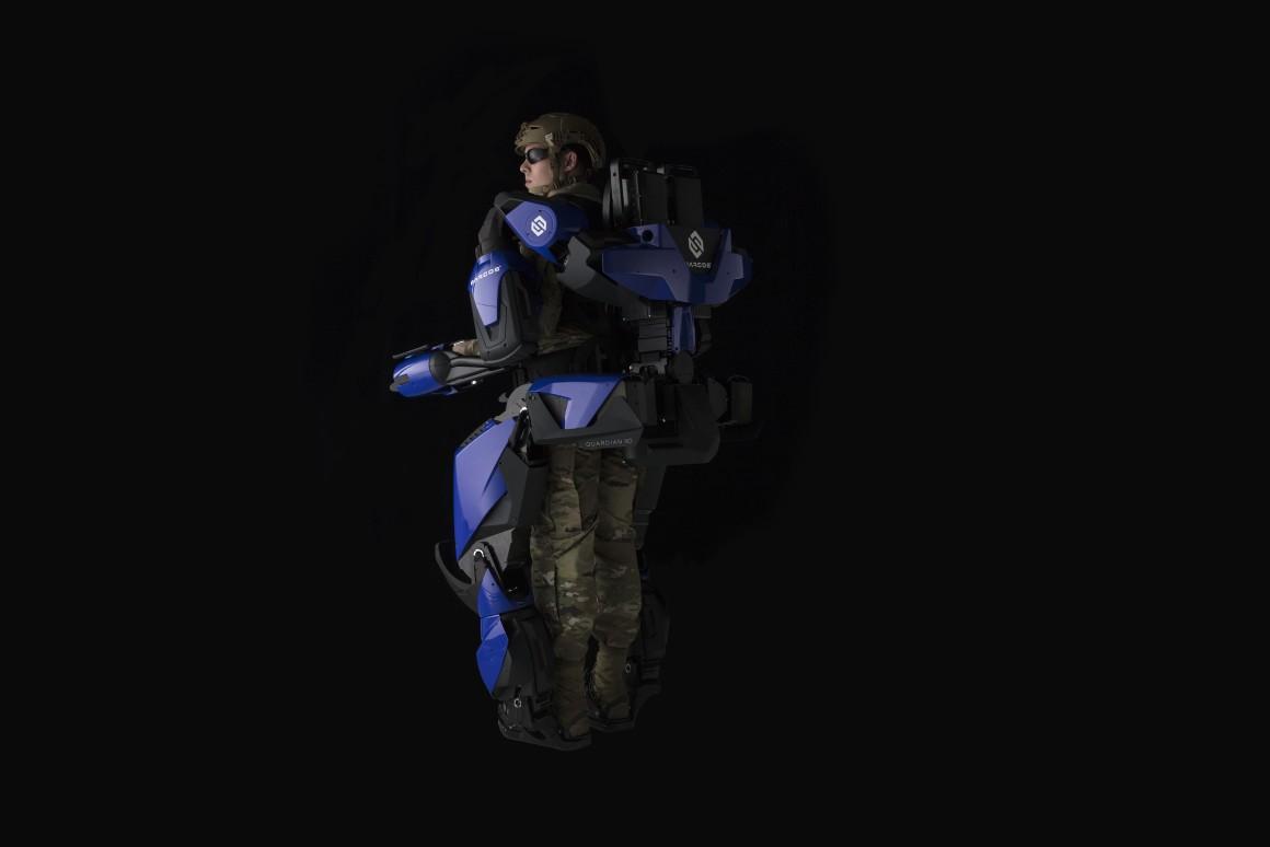 Робот-костюм Guardian XO превращает экипаж самолетов Delta в сверхчеловеческие машины