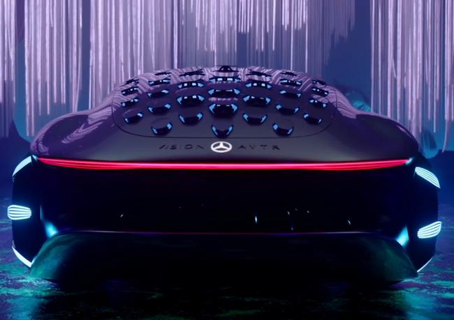 Mercedes-Benz представила прототип автомобиля со складными роботами Foldaway Haptics