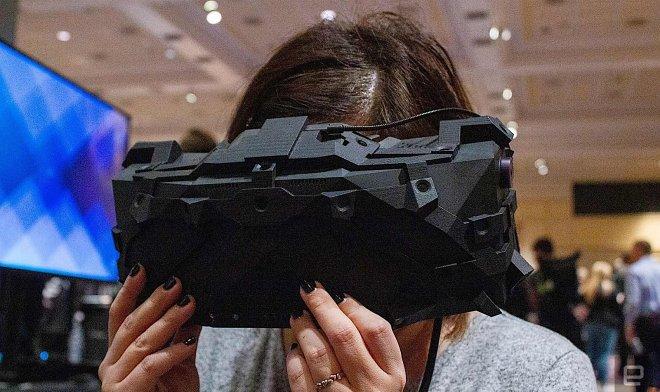 Эта уникальная гарнитура виртуальной реальности была разработана для NASA