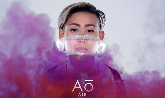 Маска Atmos Faceware заявляет: чистый воздух становится дорогой привилегией