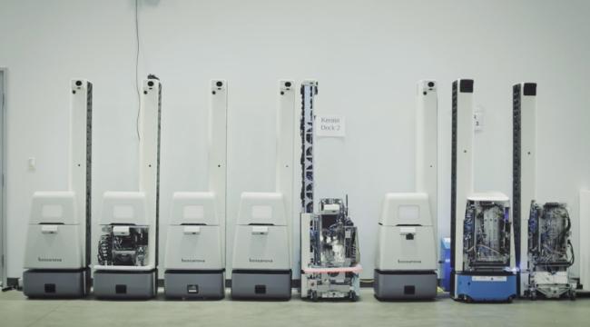 Роботы Bossa Nova начнут работать в 1000 магазинах Walmart