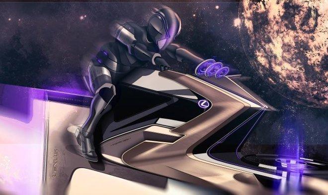 Дизайнеры Lexus разработали линейку лунных автомобилей будущего