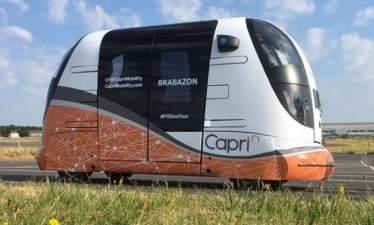 В Великобритании начинается тестирование полностью автономных пассажирских шаттлов