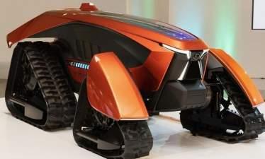 Автономный электротрактор Kubota поможет японским фермерам