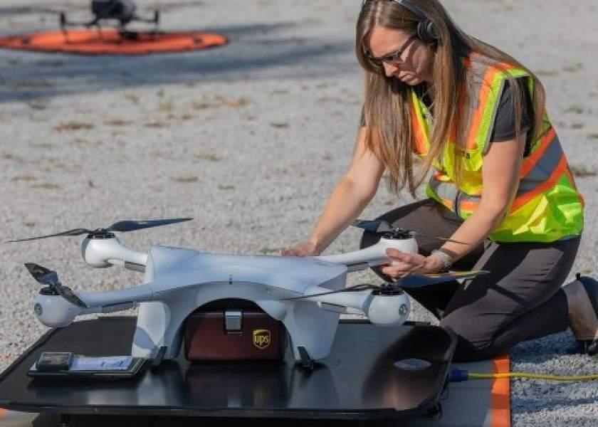 UPS и Henry Schein подписали соглашение на тестирование различных сценариев доставки беспилотниками