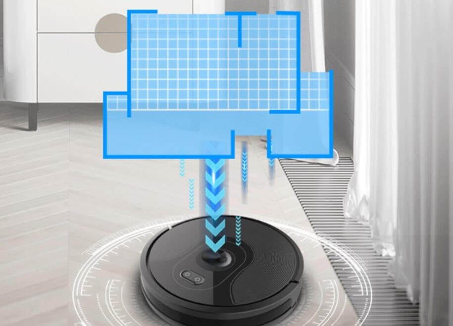 Abir X6: неплохой китайский робот-пылесос с навигацией на базе камеры