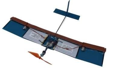 Новая конструкция крыльев позволяет значительно увеличить время полета дронов
