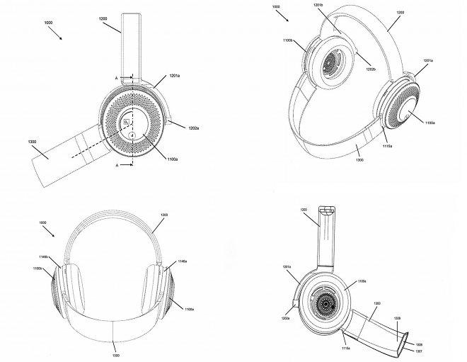 Dyson запатентовал необычные наушники с функцией воздушного фильтра