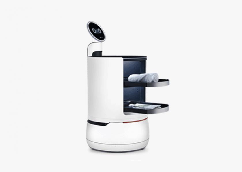 Сервисный робот LG трудоустроился в сеульский ресторан