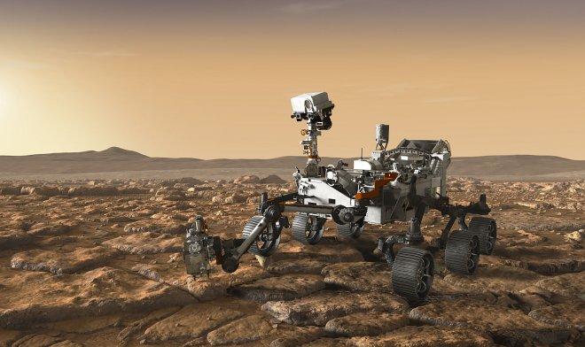 Следующий марсианский ровер получит мощный лазер, способный испарять камни