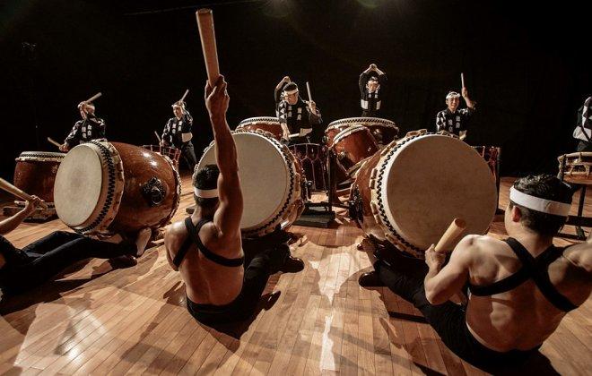 Знаменитый японский барабан тайко перешел на «цифру»