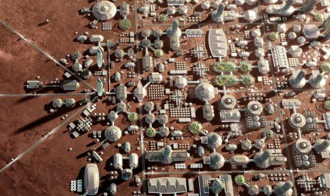 Победитель конкурса дизайна для будущего марсианского города получит $10000