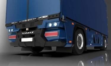 КАМАЗ разработал бескабинный грузовик